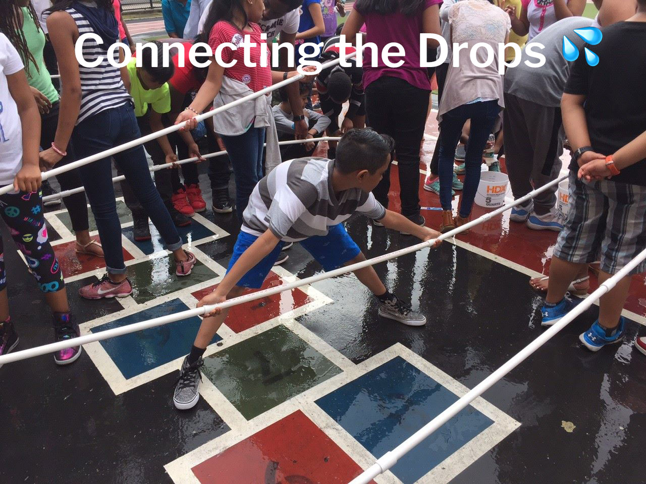 connecting the drops, corporate social responsibility educational program on sustainability