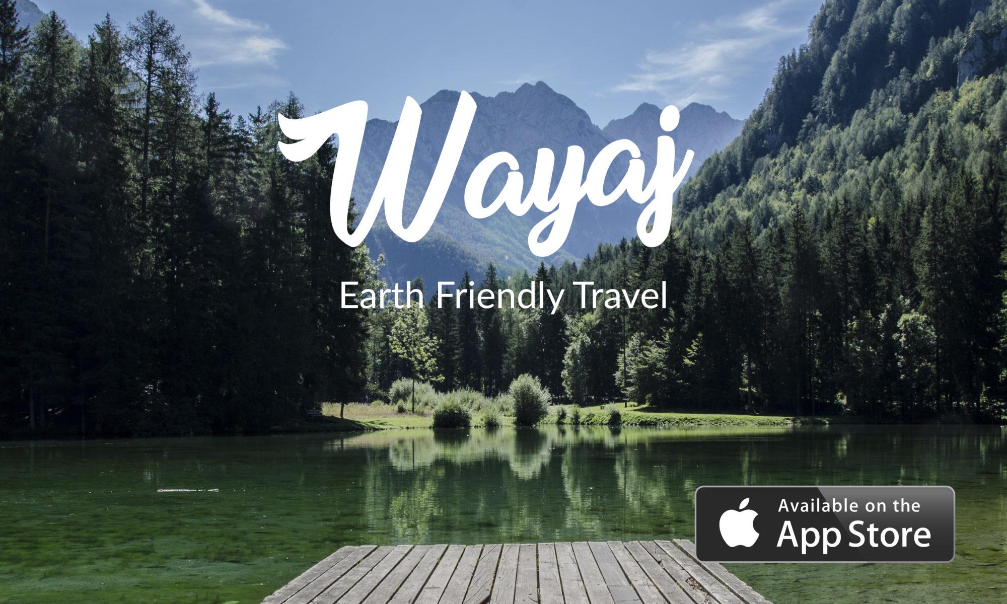 Wayaj, green travel app