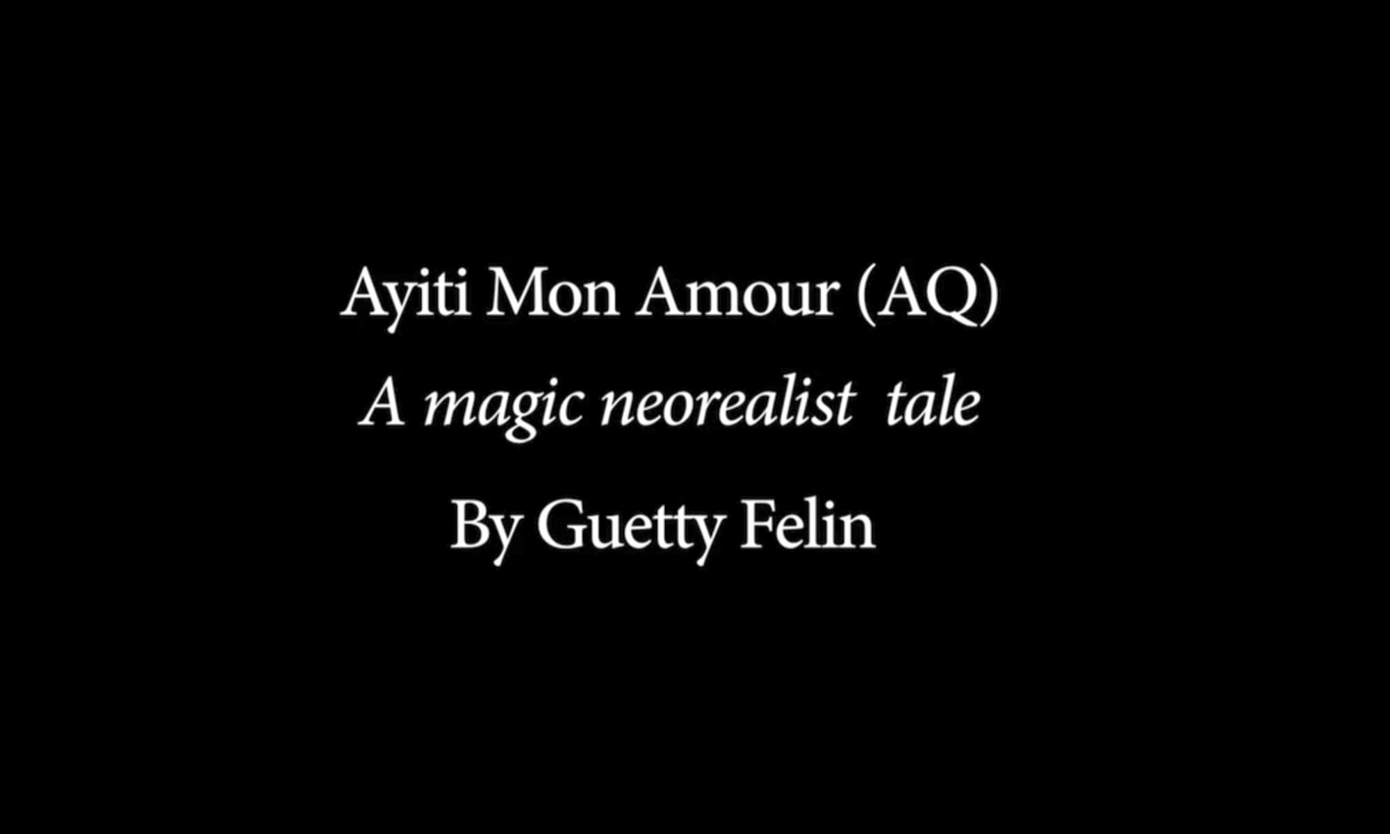 Ayiti Mon Amour , title